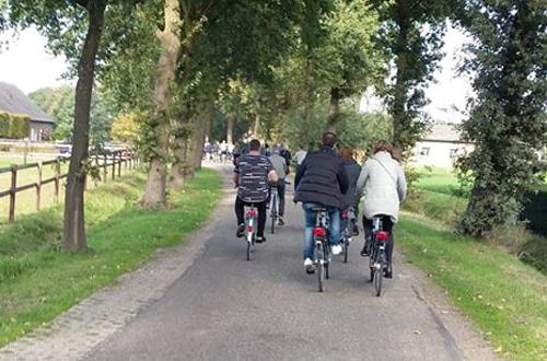 Foto fietstocht