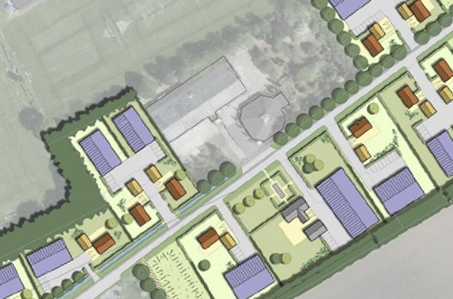 Foto plan Zuid stedenbouw